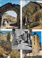 ANDORRE - VALLS D'ANDORRA -  CANILLO   5 Cartes Différentes -  1 Seule Circulé En 1960 - Andorra