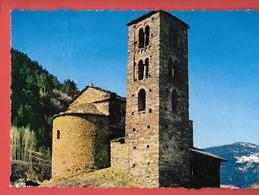 ANDORRE - VALLS D'ANDORRA -  SANT JOAN DE CASELLES   - EGLISE ROMANE -  CIM COMBIER Imp à MACON      0433 - Andorra