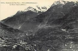 - Savoie -ref-A791- Villaroger - Environs De Sainte Foy - Vue Generale Et Mont Pourri - Carte Bon Etat - - Autres Communes