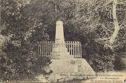 - Savoie -ref-A790- Route De Saint Michel De Maurienne à Valloire - Monument Du Capitaine De France - Monuments - - Autres Communes