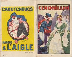 °°°°  CAOUTCHOUC DE L'AIGLE / CENDRILLON MODE A L AIGLE     °°°°  REF JUIN 18 - Reclame