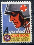 POLITICAS     Ayuda A La Cruz Roja    10 Ctms   Charnela -426A - Emisiones Repúblicanas