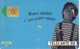 TELECARTE 50 - SANOFI - 07/92 - TIRAGE 2 000 000 EX - Advertising