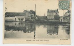 CLOYES SUR LE LOIR - Vue Sur Le Loir Et Tannerie - Cloyes-sur-le-Loir