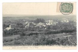 25 Merey Sous Montrond, Vue Du Village (3795) - France