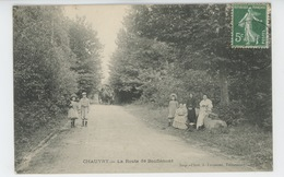 CHAUVRY - La Route De Bouffémont - France