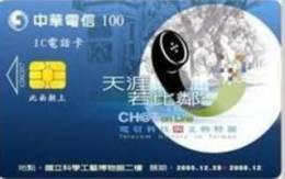 = TAIWAN - IC 06C017  =  MY COLLECTION - Taiwan (Formosa)