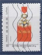= TVP Lettre Prioritaire 20g Cadre Gris Phil@poste Oblitéré N°14, SEMLH, Societe Des Membres De La Legion D'honneur - France