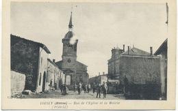 55 - Loisey : Rue De L'Eglise Et La Mairie . - Autres Communes