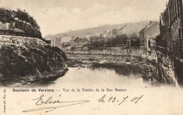 BELGIQUE - LIEGE - VERVIERS - Souvenir De Verviers - Vue De La Vesdre De La Rue Renier. - Verviers