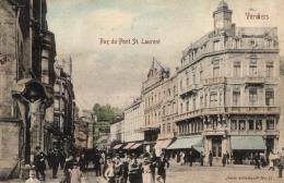 BELGIQUE - LIEGE - VERVIERS - Rue Du Pont St. Laurent. - Verviers