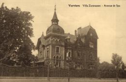 BELGIQUE - LIEGE - VERVIERS - Villa Zurstrassen - Avenue De Spa. - Verviers