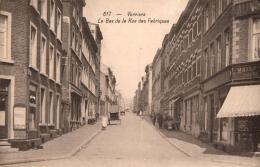 BELGIQUE - LIEGE - VERVIERS - Le Bas De La Rue Des Fabriques. (n°617) - Verviers