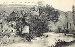 - Savoie -ref-A783- Le Canal De Savieres - Canaux - Carte Bon Etat - - Autres Communes