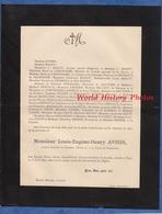 Document De 1893 - DENICé ( Rhône ) - Louis Eugène Henry AVISSE , Avocat Au Conseil D' Etat & à La Cour De Cassation - Historical Documents