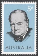 Australia. 1965 Churchill Commemoration. 5d MH. SG 377 - 1952-65 Elizabeth II : Pre-Decimals