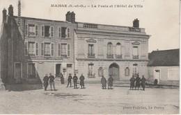 91 - MAISSE - La Poste Et L' Hôtel DeVille - Autres Communes