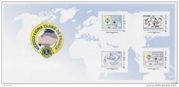 = Médico Lions Clubs De France, Lions International,  4 Tvp Différents, Lettre Prioritaire -20g Collector Neuf - France