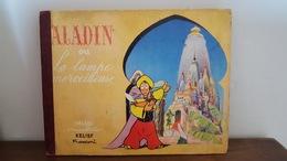 ALADIN OU LA LAMPE MERVEILLEUSE 1952 LIVRE ANIME A SYSTEME POP UP IMAGES ANDRE DIDIER RELIEF FRANCONI LES BEAUX LIVRES - Libri, Riviste, Fumetti