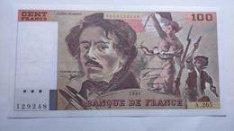 Billet 100 Francs Eugéne Delacroix 1994 (10000) - 1962-1997 ''Francs''