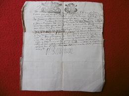 GENERALITE DE TOULOUSE MANUSCRIT AUTOGRAPHE 1684 - Cachets Généralité