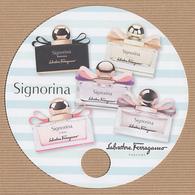 CC Carte Parfumée 'FERRAGAMO' SIGNORINA Perfume Card JAPAN - Modern (from 1961)