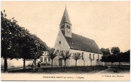91 VARENNES-JARCY - L'église - Autres Communes