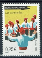 "Andorra (French Adm.), ""les Caramelles"", 2018, MNH VF - French Andorra"