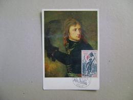 "FRANCE - MAXIMUM MAXIMUN ""NAPOLEAN BONAPARTE AT ARCOLE BRIDGE"" IN THE STATE - Napoleon"