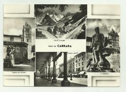 SALUTI DA CARRARA - VEDUTE -   VIAGGIATA FG - Carrara