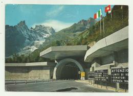 COURMAYEUR - ENTREVES - INGRESSO EL TROFORO MONTE BIANCO VIAGGIATA FG - Italia