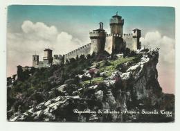 REPUBBLICA S.MARINO - PRIMA E SECONDA TORRE - NV FG - San Marino