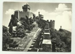REPUBBLICA S.MARINO - PRIMA E SECONDA TORRE - NVIAGGIATA  FG - San Marino