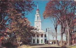 Maine Kennebunkport Congregational Church 1952