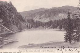 ORMONT-DESSOUS - Lac Des Chavonnes Et Le Chamossaire - VD Vaud