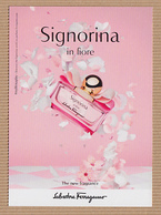 CC Carte Parfumée 'FERRAGAMO' SIGNORIA Perfume Card JAPAN - Modern (from 1961)