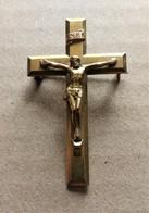 Religion ésotérisme - Ancienne Croix Broche à épingle - Religion & Esotérisme