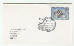 1980 SPONNE SCHOOL 550th Anniv MUSIC  EVENT COVER Stamps Towcester GB - Music