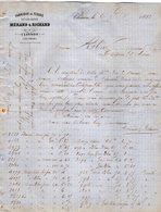 VP12.356 - Lettre - Fabrique De Tissus En Tous Genres MERAND & RICHARD à CLISSON - Textile & Clothing