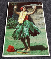 "Erotic-Photo-Postcard (from Honolulu) ""Dancing Hawaiian Girl"" Sexy Young Woman / Jeune Femme Erotique - 181668 - Autres"