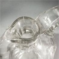 ~ CARAFE A VIN EN CRISTAL - Vin Vigne Table - Glass & Crystal