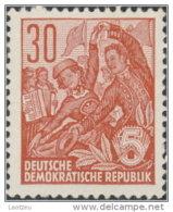 Allemagne DDR 1953. ~ YT 128** - Théâtre Amateurs - DDR