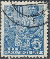 Allemagne DDR 1955. ~ YT 190/93 - Lot 4 Plans Quinquennal - Oblitérés