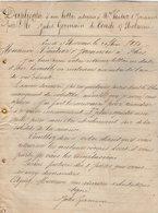 VP12.358 - Lettre Commerciale - Jules GERMAIN à CONDE SUR NOIREAU - 1800 – 1899