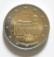 2 Euro 2017 Rheinland-Pfalz Sondermünzen Prägestätte (D) (awei/ - Germany