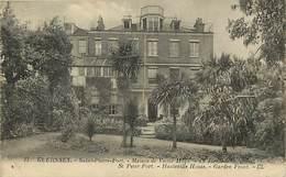 Royaume Uni - United Kingdom - Uk -ref A920- Guernsey - Saint Pierre Port - Maison De Victor Hugo  - - Guernsey