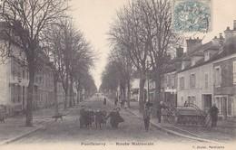 PONTHIERRY - Route Nationale - Saint Fargeau Ponthierry