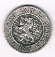 10 CENTIMES 1861  BELGIE /3432G/ - 1831-1865: Leopold I
