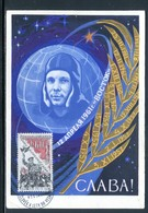 Tchécoslovaquie - Carte Maximum 1963 - Conquête De L 'Espace - Tschechoslowakei/CSSR