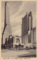 NEW-YORK - Waldorf And Radio Bldg - Manhattan